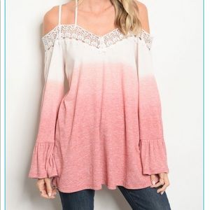 Tops - 🎀🌸NEW Blush Ombré Top